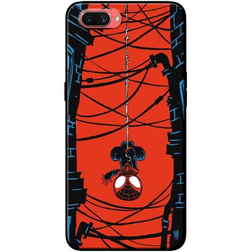 Ốp lưng nhựa dẻo Oppo A3S Người nhện