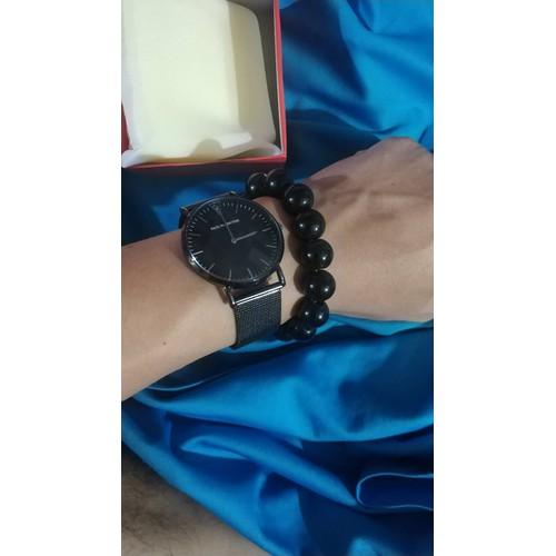 Đồng Hồ Nam Titan - 8704 - tặng kèm nhẫn + vòng tay