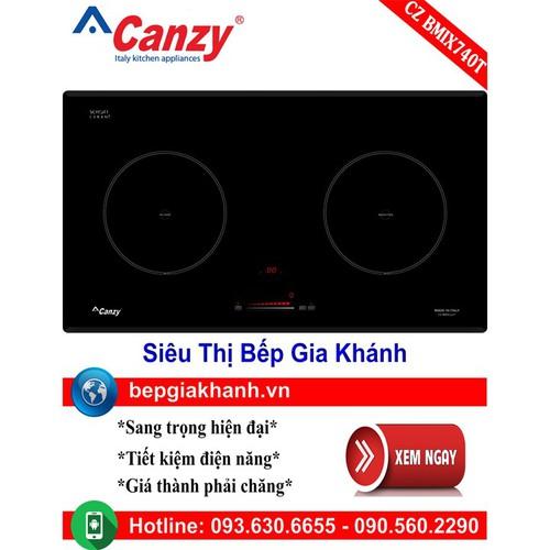 Bếp điện từ đôi Canzy CZ BMIX740T nhập khẩu Italy