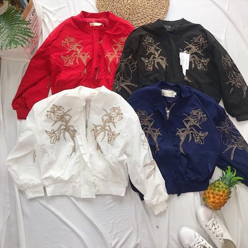 Áo khoác bomer xịn Quảng Châu kèm hình thật