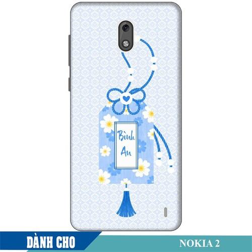 Ốp lưng nhựa dẻo dành cho Nokia 2 in Thẻ Bài Bình An