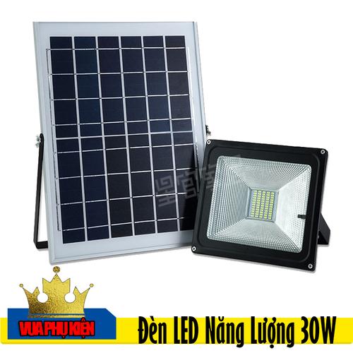 Đèn LED Năng Lượng Mặt Trời Điều Khiển Từ Xa Siêu Sáng IP 65 30W