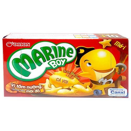 Bánh Orion Marine Boy vị tôm nướng môi đỏ hộp 36g - 10982221 , 14161877 , 15_14161877 , 11000 , Banh-Orion-Marine-Boy-vi-tom-nuong-moi-do-hop-36g-15_14161877 , sendo.vn , Bánh Orion Marine Boy vị tôm nướng môi đỏ hộp 36g