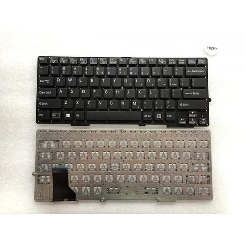 Bàn phím laptop Sony SVS13  SVS13 SVS1311 SVS131 SVS13118 SVS13128 S13118ECB S13128CCW màu đen - keyboard Sony