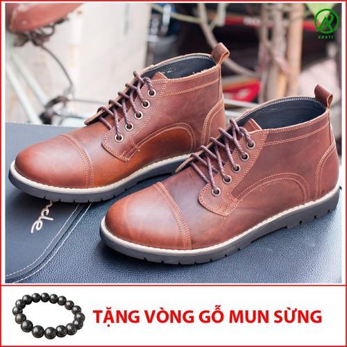 Giày boot da sáp cổ lửng màu nâu bò-BL538-GM - 7514362 , 14162380 , 15_14162380 , 1140000 , Giay-boot-da-sap-co-lung-mau-nau-bo-BL538-GM-15_14162380 , sendo.vn , Giày boot da sáp cổ lửng màu nâu bò-BL538-GM
