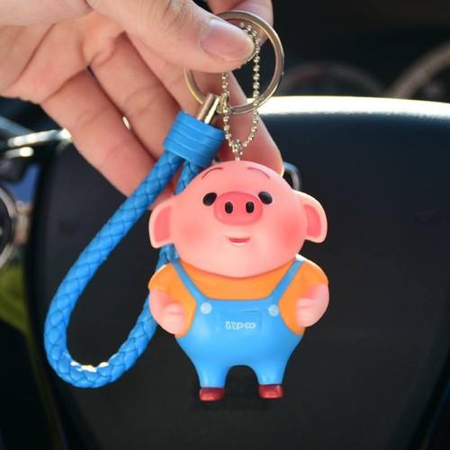Móc khóa móc khóa con lợn móc khóa con heo móc khóa hoạt hình móc khóa dễ thương