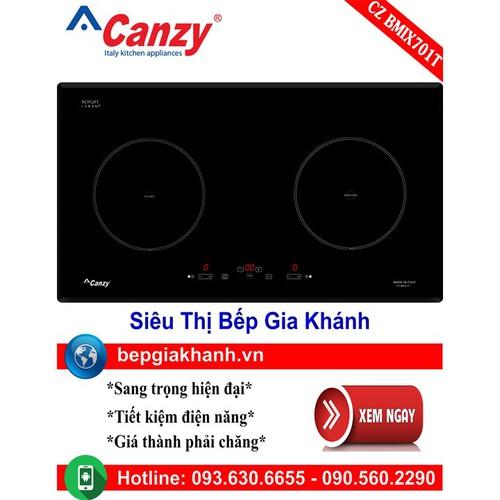 Bếp điện từ đôi Canzy CZ BMIX701T nhập khẩu Italy