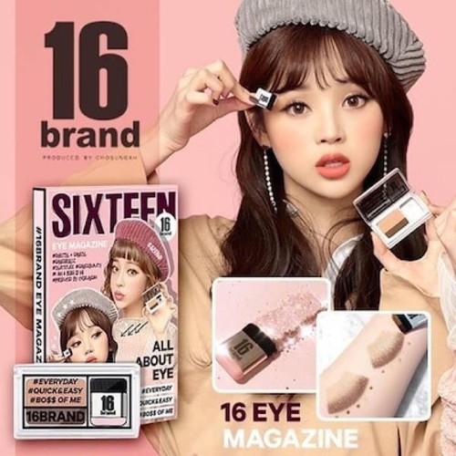 phấn mắt sixteen 16 brand Eye Magazine All About Eye