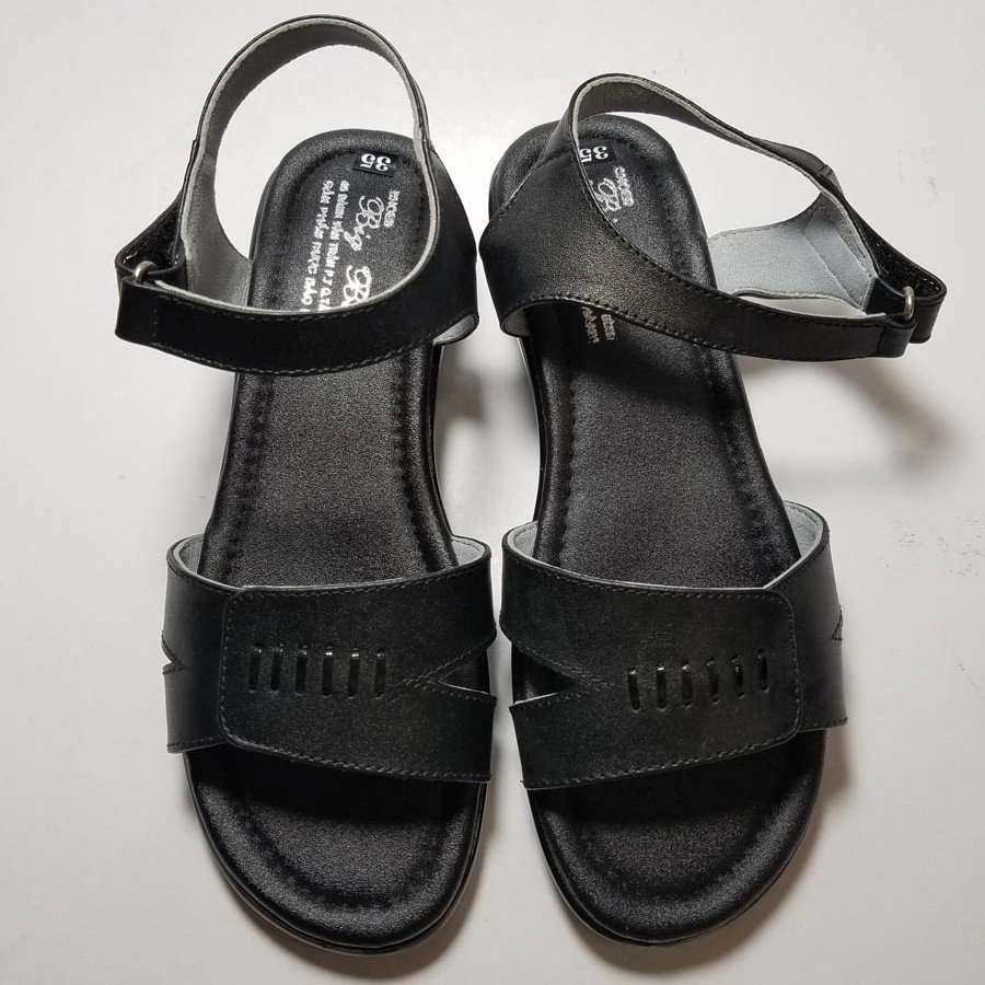 JAZAShop: Sandal Dép Quai Hậu Nữ Da Bò Thời Trang - JZ1091 - JZ1091 | Sendo.vn