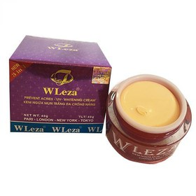 Kem ngừa mụn trắng da chống nắng Wleza 40g - WLEZA1-1