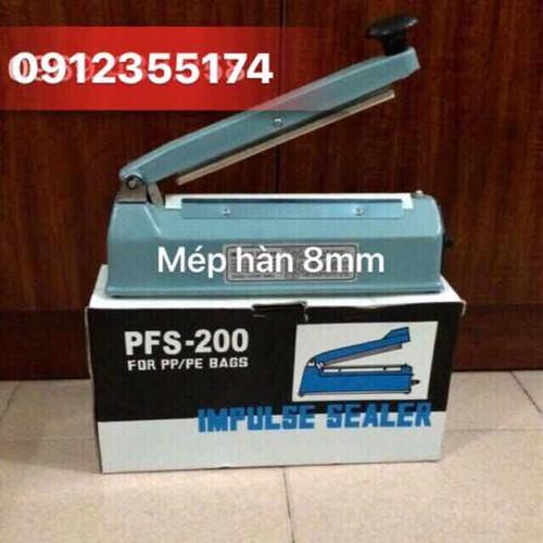 Máy hàn miệng túi 20-8 mm - Tặng dây nhiệt