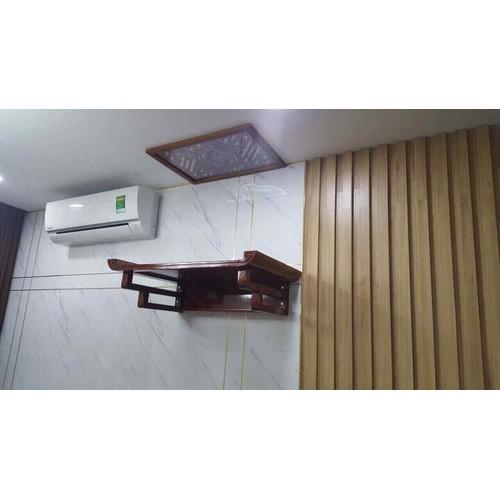 bàn thờ tai cuốn gỗ sồi 48x69cm