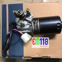 Động cơ giảm tốc 12V 50W - giảm tốc 24V 50W - động cơ gạt mưa oto - động cơ làm đồ chế