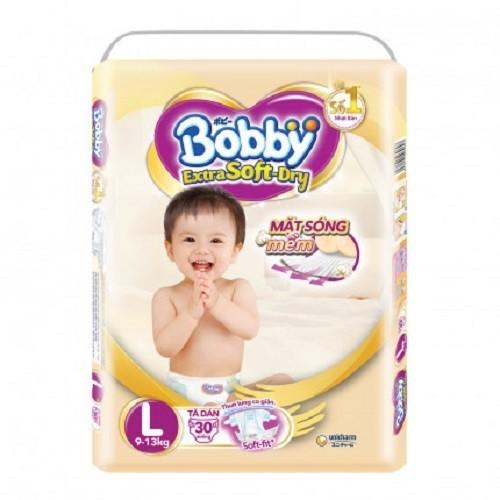 Tã dán Bobby Extra Soft Dry L30 -1706 - 7515775 , 14173021 , 15_14173021 , 163500 , Ta-dan-Bobby-Extra-Soft-Dry-L30-1706-15_14173021 , sendo.vn , Tã dán Bobby Extra Soft Dry L30 -1706