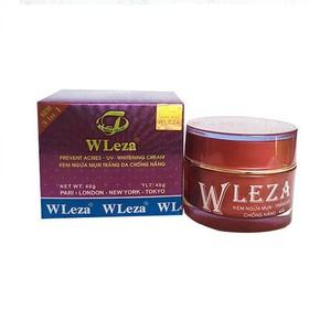 Kem ngừa mụn trắng da chống nắng Wleza 40g - WLEZA1-0