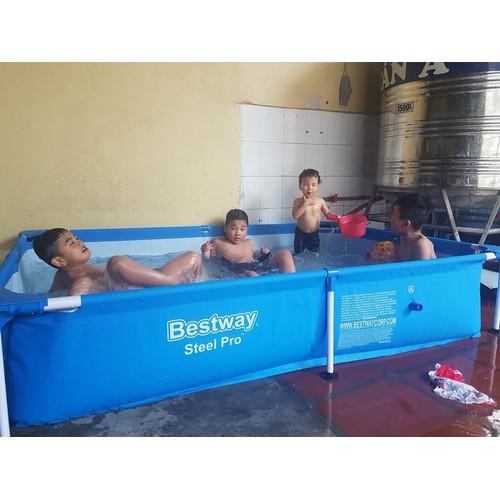 Bể bơi lắp ghép Bestway 56401 - 4515558 , 14176426 , 15_14176426 , 1999000 , Be-boi-lap-ghep-Bestway-56401-15_14176426 , sendo.vn , Bể bơi lắp ghép Bestway 56401