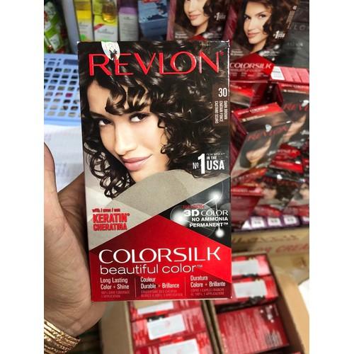 Thuốc nhuộm tóc ColorSilk 3D 30 Nâu Sậm