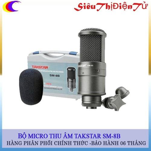 Micro Thu Âm Takstar SM 8B Cao Cấp