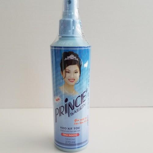Keo Xịt Tóc Prince Lớn chai 270ml