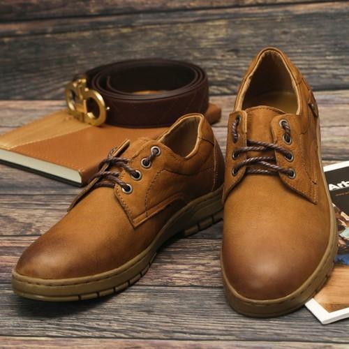 Giày Da Sáp Cao Cấp MG091
