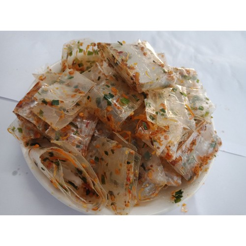 1kg bánh tráng cuộn khô gà cực ngon, ăn là nghiền