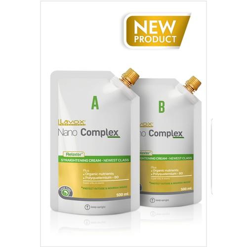 Thuốc duỗi tóc cao cấp NANO COMPLEX RELAXER