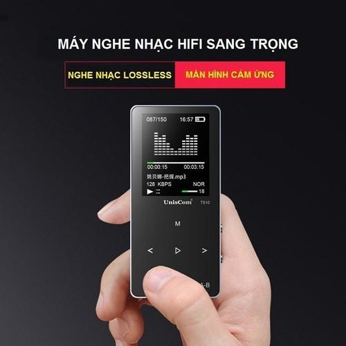 Chiếc Máy Nghe Nhạc Mp3 Lossless Uniscom T510 8GB - Hợp kim CNC cao cấp