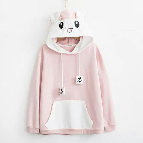Áo hoodie nữ cực cute