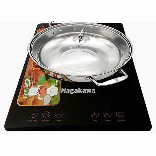Bếp từ Nagakawa - 4495994 , 13830724 , 15_13830724 , 699000 , Bep-tu-Nagakawa-15_13830724 , sendo.vn , Bếp từ Nagakawa
