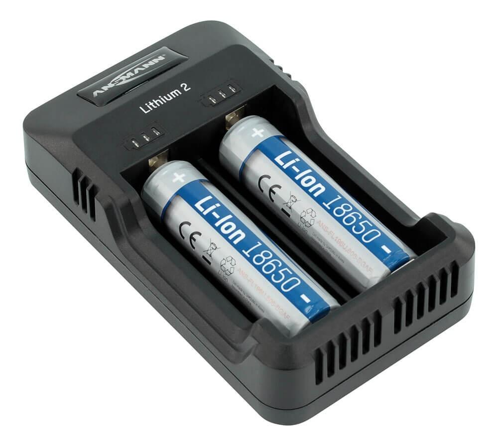 Bộ sạc pin AA - AAA - Lithium lion ANSMANN Lithium 2