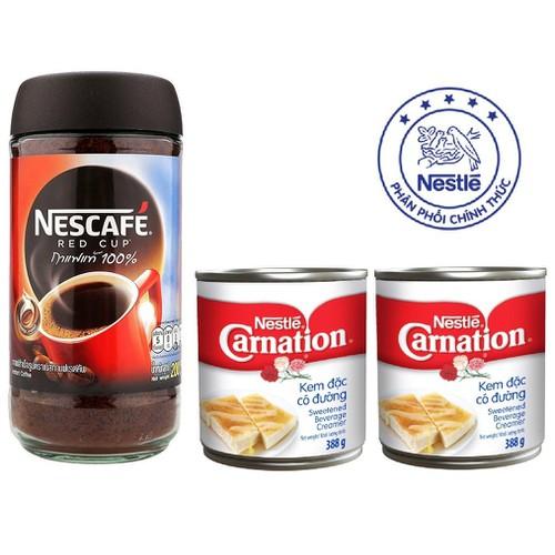 Cà phê hòa tan nguyên chất 200g Nescafé Red Cup & 2 Sữa đặt 766g Nestle Thái Lan - 7117033 , 13843516 , 15_13843516 , 149000 , Ca-phe-hoa-tan-nguyen-chat-200g-Nescafe-Red-Cup-2-Sua-dat-766g-Nestle-Thai-Lan-15_13843516 , sendo.vn , Cà phê hòa tan nguyên chất 200g Nescafé Red Cup & 2 Sữa đặt 766g Nestle Thái Lan