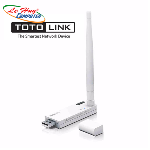 Bộ Kích Sóng Wifi Repeater 150Mbps Totolink EX100 - Hàng Chính Hãng