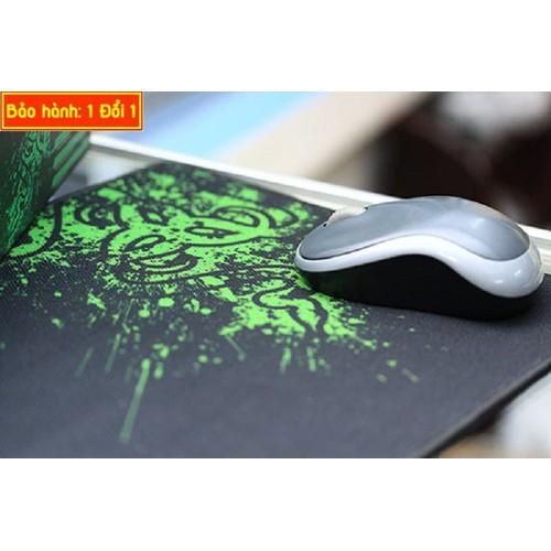 Tấm lót chuột có thiết kế sang trọng, độ bền cao, viền mền, kích thước 250 x 290 x 2,3mm