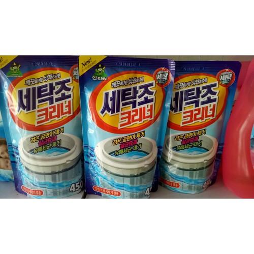 Combo 4 gói bột tẩy vệ sinh lồng máy giặt Sandokkaebi - Hàn Quốc - 7111815 , 13839149 , 15_13839149 , 100000 , Combo-4-goi-bot-tay-ve-sinh-long-may-giat-Sandokkaebi-Han-Quoc-15_13839149 , sendo.vn , Combo 4 gói bột tẩy vệ sinh lồng máy giặt Sandokkaebi - Hàn Quốc