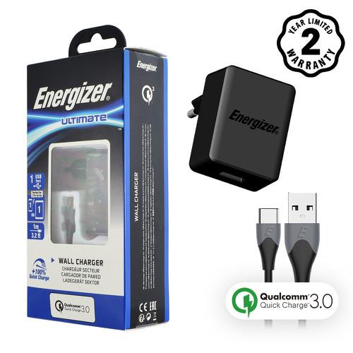 Sạc Energizer 18W QC3.0, kèm cáp Type C màu đen - AC1Q3EUUC23 - 7109076 , 13836975 , 15_13836975 , 550000 , Sac-Energizer-18W-QC3.0-kem-cap-Type-C-mau-den-AC1Q3EUUC23-15_13836975 , sendo.vn , Sạc Energizer 18W QC3.0, kèm cáp Type C màu đen - AC1Q3EUUC23