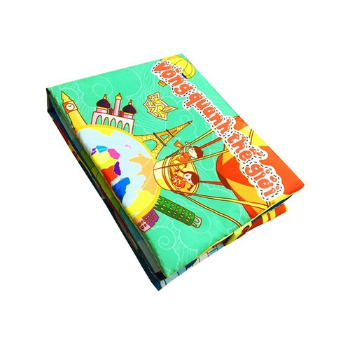 Sách vải tiếng Việt | chủ đề Vòng Quanh Thế Giới