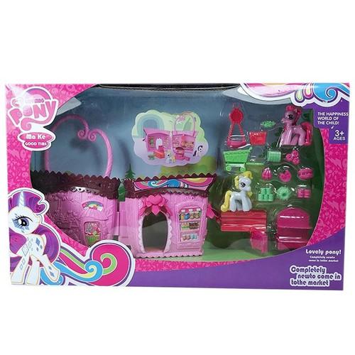 Đồ Chơi Nhân vật bé nhỏ Pony nhà Make good time [SHIP TOÀN QUỐC]