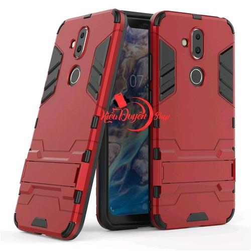 Ốp lưng Nokia 8.1- Nokia X7 2018 chống sốc Iron Man