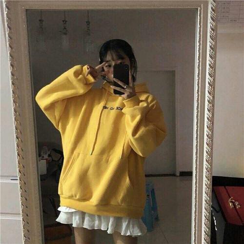 Áo hoodie nữ bánh bèo
