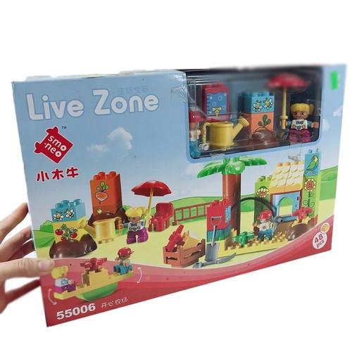 Xếp Hình Công Viên Vui Nhộn Livezone