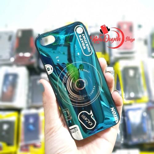 Ốp lưng Iphone 5,5S,Ốp lưng hình máy ảnh,tặng kèm giá đỡ và dây đeo