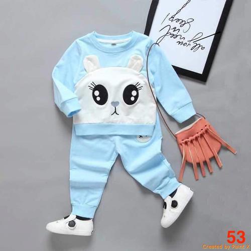 Bộ quần áo chất da cá cho bé từ 6 đến 22kg - Ms 53