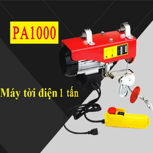 máy tời điện PA1000 tải 1 tấn cáp 12 mét
