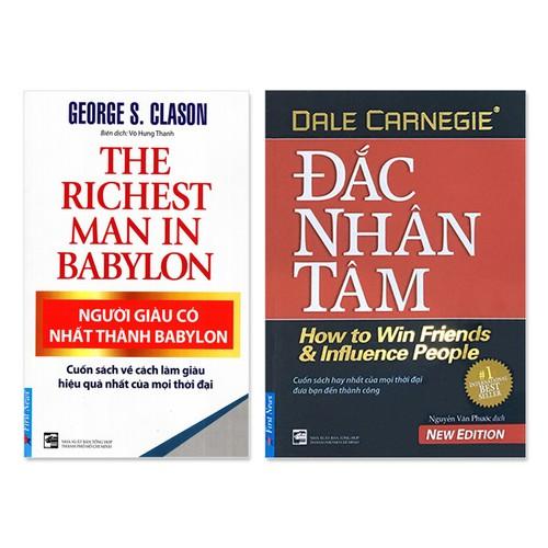 Combo 2 cuốn: Đắc Nhân Tâm,  Người Giàu Có Nhất Thành Babylon