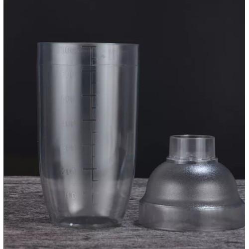 Bình shaker nhựa 700ml