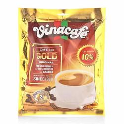 Combo 3 Bịch Cafe Cao Cấp  VinaCafe Gold 20gr x 24 Gói
