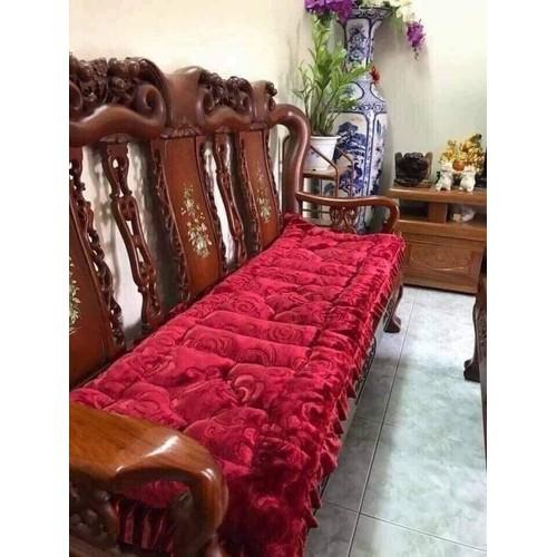 bộ thảm ghế nỉ nhung