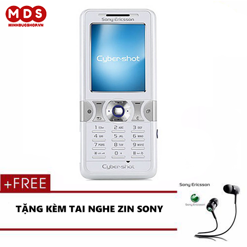 Điện Thoại Sony Ericsson K550i - Kèm Tai Nghe Bảo Hành 12 Tháng