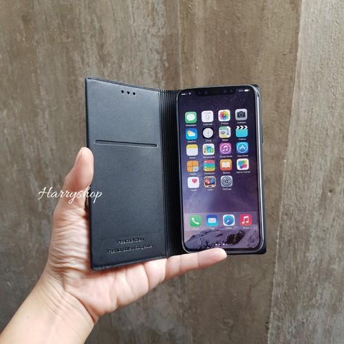 Bao da dạng ví Iphone XR Peacocktion cao cấp