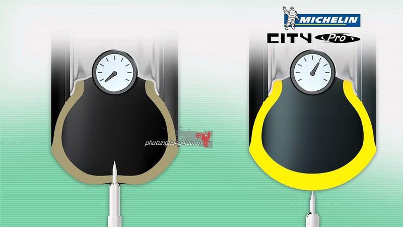 Vỏ xe Michelin City Grip Pro 70.90-17 1